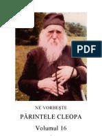 Ne Vorbeste Parintele Cleopa - Volumul 16 - TEXT