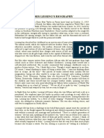 Doris Lessing's Biography