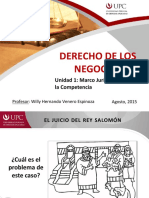 UNIDAD-1 Marco Juridico y Derecho de La Competencia