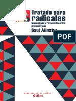 Tratado Para Radicales Saul Alinsky