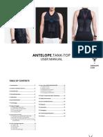 En Antelope Tank Top Manual English