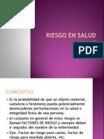 Riesgo en Salud-2015