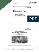 Componentes de Caldero Y Mantenimiento