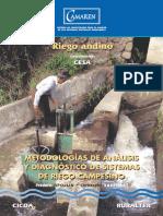 Metodologías de análisis y diagnóstico de sistemas de riego campesino