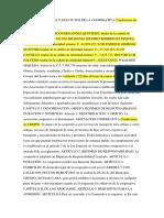 Acta Constitutiva y Estatutos de La Cooperativamaxi Taxi r