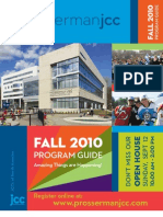 Prosserman JCC Fall 2010 Program Guide