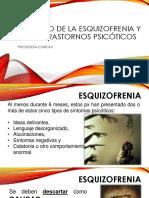 UNIDAD IV Espectro de La Esquizofrenia