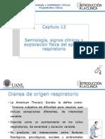 Capítulo 13. Semiología, Signos Clínicos y Exploración Física Del Aparato Respiratorio