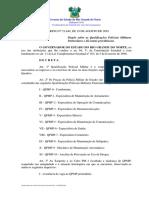 Decreto 21.849 - 19-08-2010- Mudança de QPMP