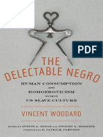 The Delectable Negro - Human Consumption and Homoeroticism Within US Slave Culture