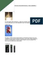 Usos y Aplicaciones de Los Elementos de La Tabla Periódica