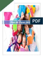Plan de Clases Lenguaje.