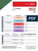 2017 Danfoss Course Schedule