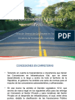 Las Concesiones Viales en El Perú-Ing. Suto