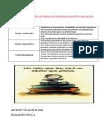 Cuadro Comparativo Entre Las Teórias Psicológicas en Su Aporte a La Educación