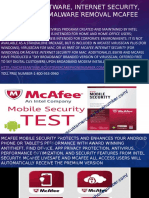 Antivirus Software, Internet Security, Spyware and Malware Removal Mcafee