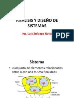 ANALISIS Y DISEÑO DE SISTEMAS CON UML