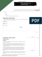 Organización y Control de Obras