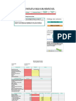 Plantilla de Excel Con Dashboard Financiero