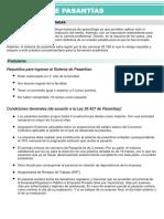 INFO Programa de Pasantias PDF