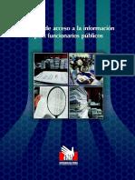 Manual de Acceso a La Informacion de Funcionarios - Defensoría del Pueblo