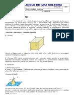 Lista 2º EM - 2012 (Introdução a Geometria Espacial)