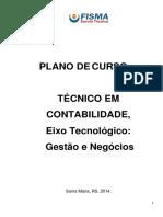 Plano de Curso Do Técnico Em Contabilidade
