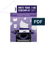 ScreenCraft Presents Writing Your Screenplay in Sixty Days 1
