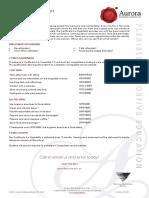 Certificate II in Hospitality SIT20316 VETiS E 2