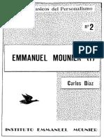 Mounier. Carlos Díaz