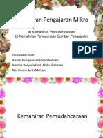 Kemahiran Pengajaran Mikro