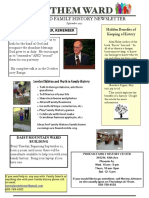 Anthem Ward Temple and Family History Newsletter