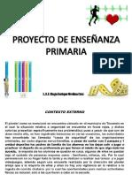 Ejemplo de Proyecto de Enseñanza. Educación Física. Primaria. Mtro. Hugo Enrique Medina Cruz