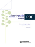 Economic Contribution and Potential of NZs Oil and Gas Industry
