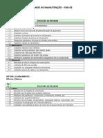 Planos de Manutenção Preventiva - Fab.02