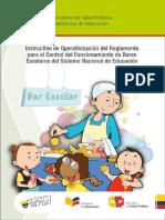 Instructivo de Bares Escolares