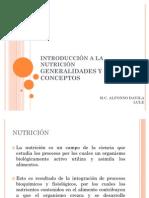 INTRODUCCIÒN A LA NUTRICIÒN