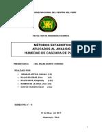 Estadistica de Analisis cuantitativo