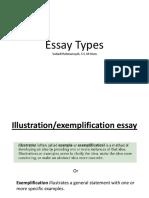 Jenis Jenis Essay