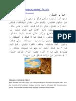 Erita Bahasa Arab Dan Artinya