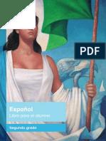 Espanol Libro Para El Alumno Libro de Texto Segundo Grado