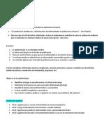 Epi Clase 1. Resumen
