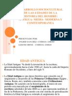 Sociologia PDF Edades de La Historia Del Hombre- Sociologia