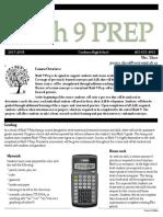 math 9 prep course outline  1  pdf