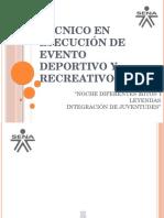 Técnico en Ejecución de Evento Deportivo y Recreativo