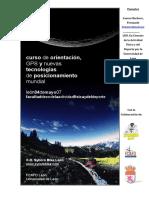 Clase Teorica 04.05.07 Actividades en La Naturaleza INEF Leon - GPS