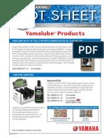 Yamalube Hot Sheet FINAL