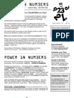 Newsletter #1 - 08/13/10