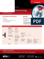 MIJA Datasheet Extinguisher Manometro de Presion