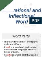 Derivational-Inflectional
